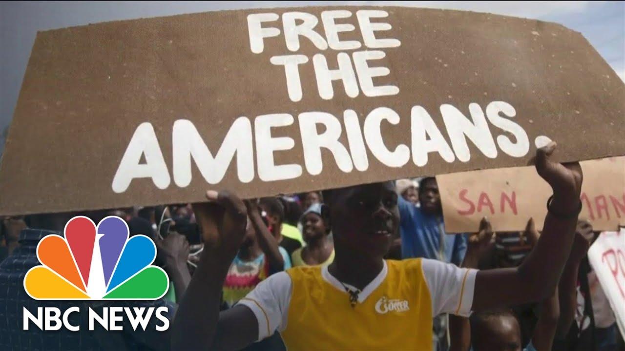 Download Haiti Gang Leader Threatens To Shoot 17 Hostages If Demands Aren't Met