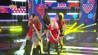 【TVPP】Hello Venus - Romantic Love, 헬로비너스 - 로맨틱 러브 @ Show Music Core Live