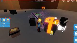 Trying to get the dungeon completed roblox unboxing simulator