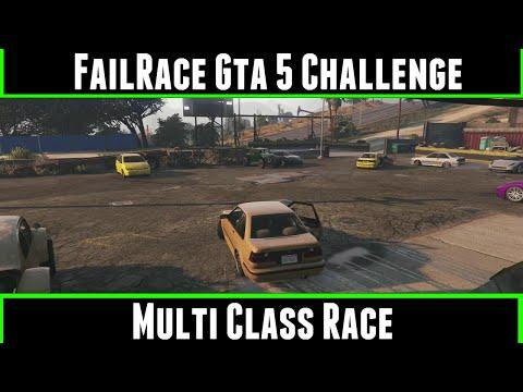 FailRace Gta 5 Challenge Multi Class Racing