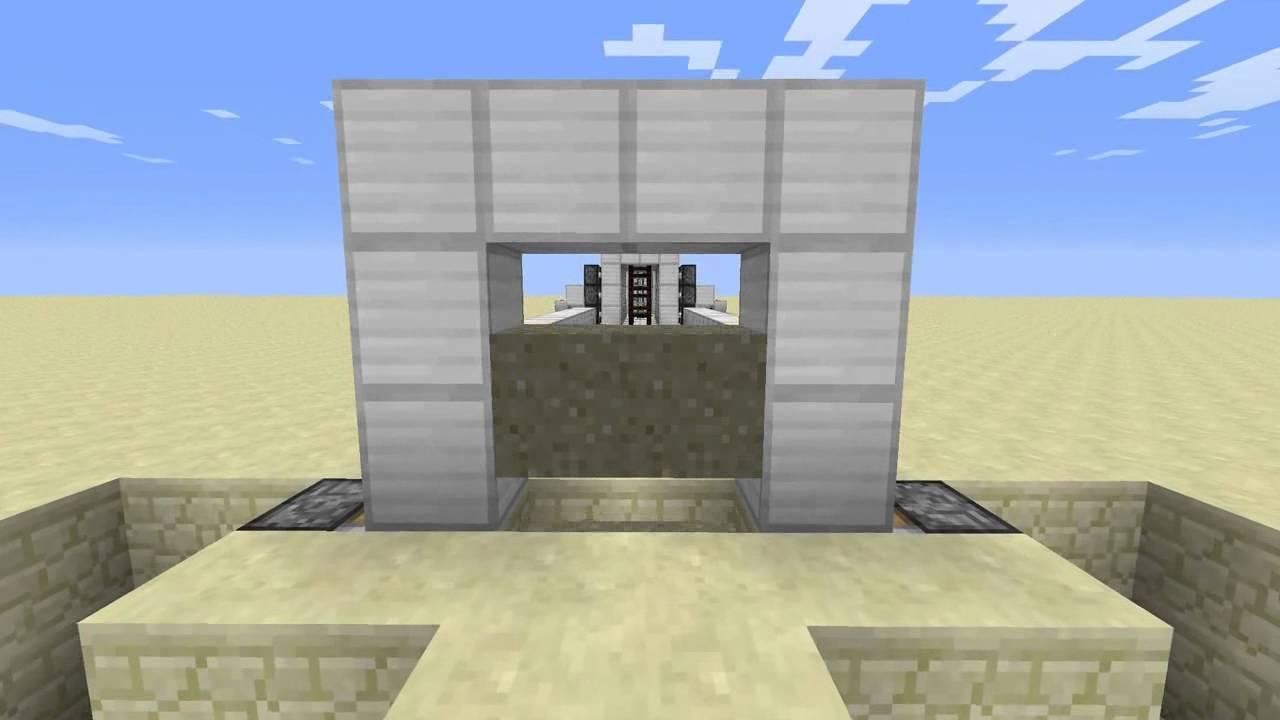 how to make elevator minecraft hcf