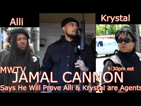 Jamal Cannon says his receipts will prove Alli & Krystal Muhammad are bonafide agents