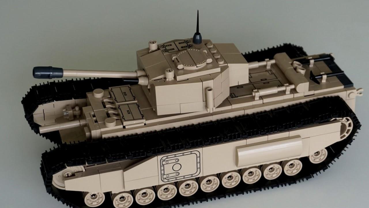 COBI - Churchill Mk. 1 - TEST
