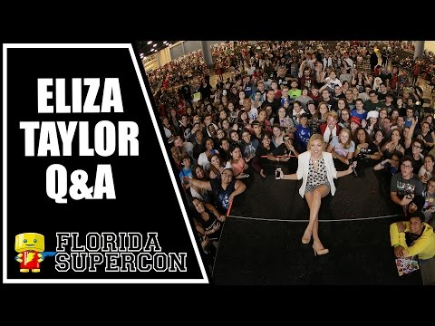 Eliza Taylor Q&A at Florida Supercon 2015