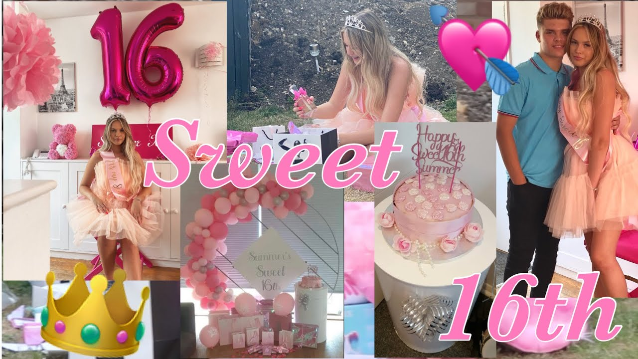 MY 16TH BIRTHDAY VLOG!!🥳💓