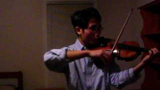 Bach Violin Solo Sonata No. 1 Adagio in g minor, S. 1001