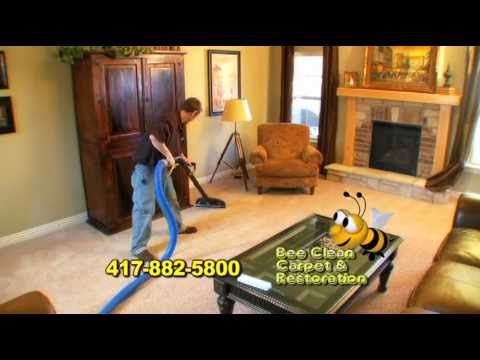 Bee Clean Carpet Cleaning Springfield Mo Youtube