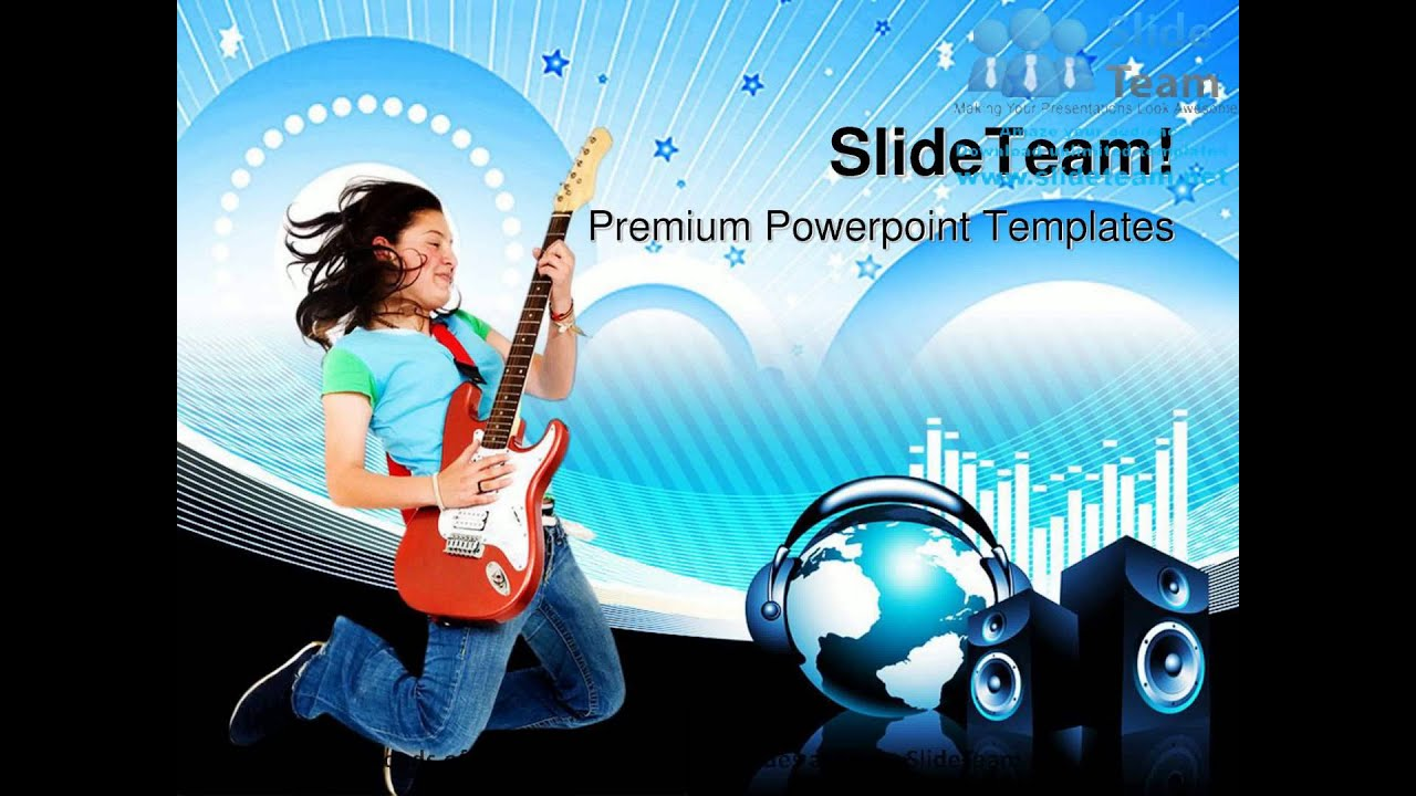 Teenage girl jumping music powerpoint templates themes and teenage girl jumping music powerpoint templates themes and backgrounds ppt themes toneelgroepblik Images