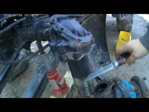 Ремонт переднего моста мтз 82 своими руками видео