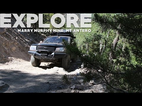 We Explore  Mary Murphy Mill & Mt Antero Near Nathrop, CO
