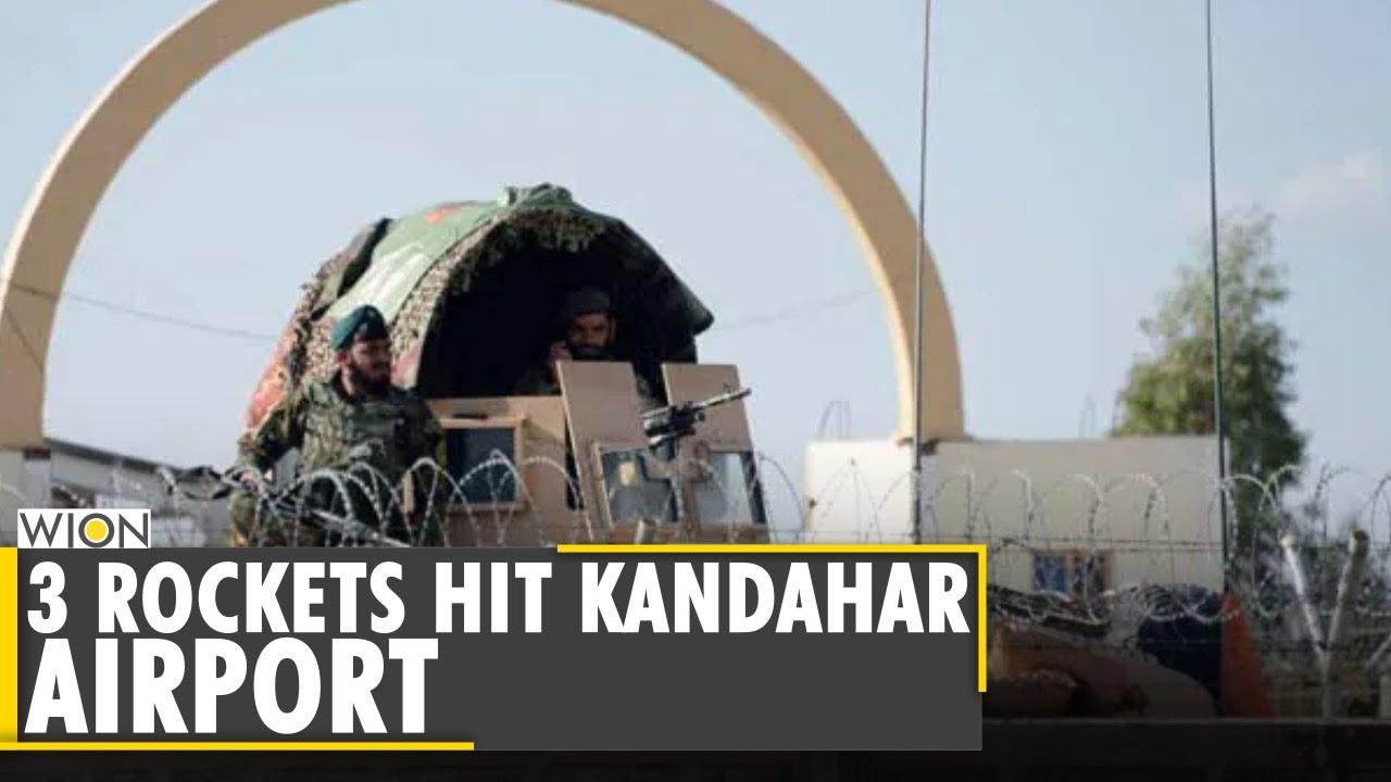 Download Rockets hit Kandahar airport in southern Afghanistan | Taliban |Latest World English News |WION News