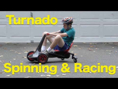 Rollplay Turnado Go-Kart Ride-on Review, 24-Volt Battery-Powered Spinning Fun!