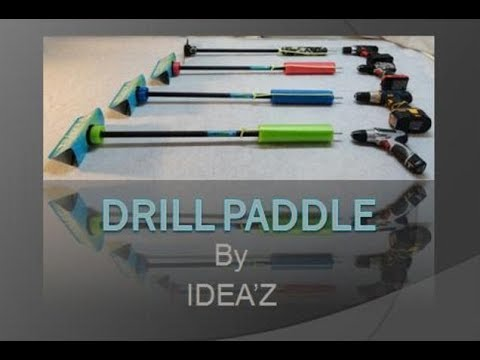 Drill paddle demonstration and update