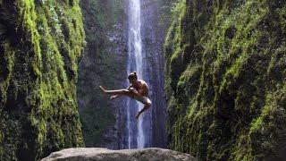 Exploring a Hidden 400 Foot Waterfall | Maui, Hawaii (vlog)