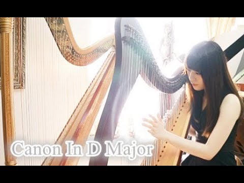 Pachelbel Canon in D Major カノン (Celtic Harp Cover)