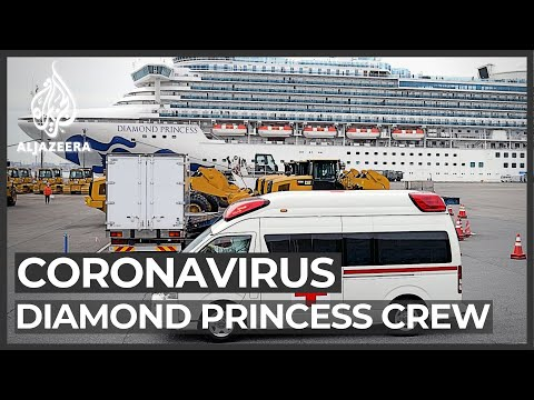 Diamond Princess cruise ship workers trapped in virus outbreak
