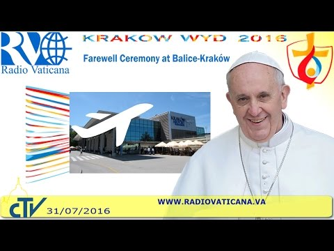 Pope Francis in Poland: Farewell Ceremony