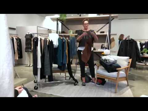 Packing Tips With Eileen Fisher Clothing