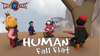 Human Fall Fat  | Funny Game Play | Road to 117K Subs(25-09-2019)