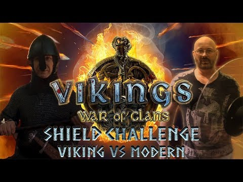 Viking age shield Test reply to Joerge Sprave Time Traveling Viking