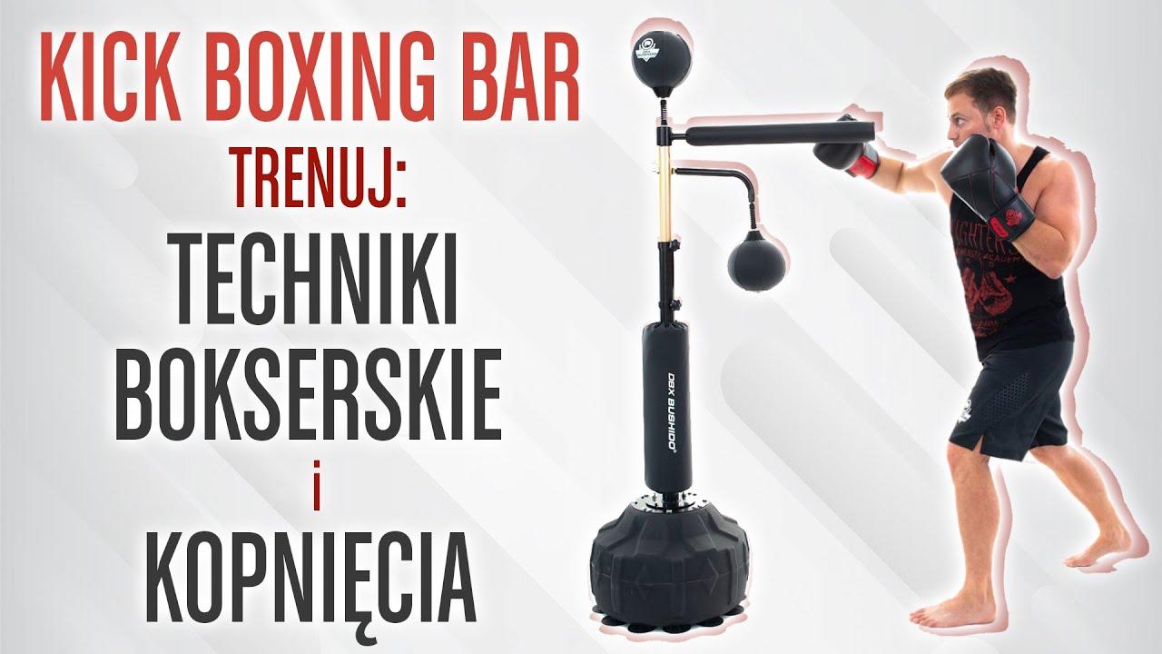 Kick Boxing Bar - przyrząd do treningu bokserskiego i kopnięć