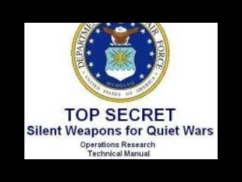 SILENT WEAPONS FOR SECRET SOCIETIES 3/5