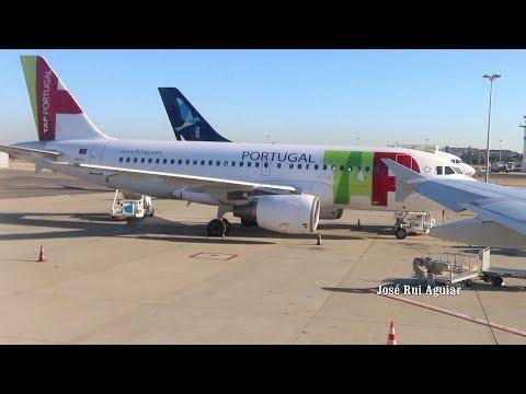 Voo Completo TAP AIR PORTUGAL Airbus A319 não Consegue Pousar Lisboa to Madeira Porto Santo e Lisboa