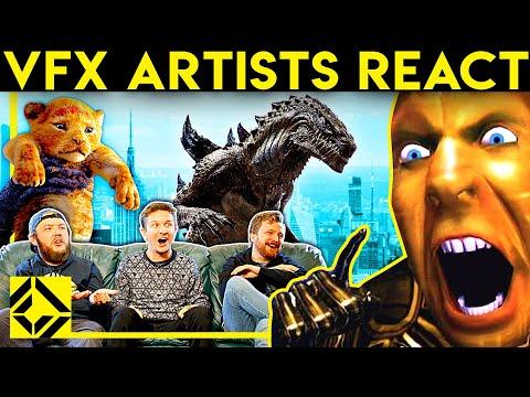 VFX Artists React to Bad & Great CGi 17