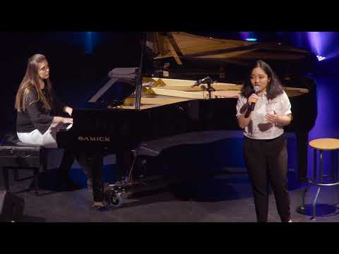 39e édition de Cégeps en spectacle - Sophia C. K. R. & Alexandra N., École de musique Vincent-d'Indy