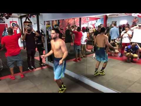🔴🎥Live Danny Garcia Philadelphia Media Workout #Thaboxingvoice
