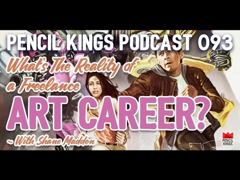 PK 093: Understanding the reality of a freelance art career