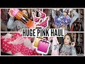 HUGE PINK VICTORIA SECRET HAUL | 2017