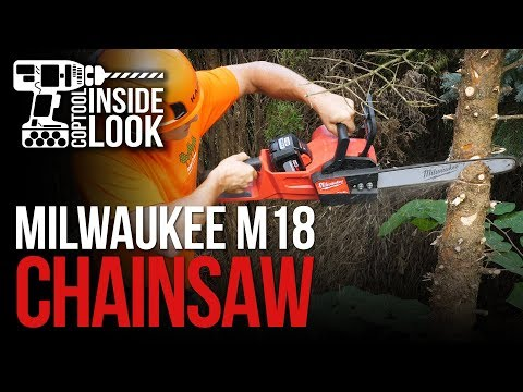 """INSIDE LOOK: Milwaukee M18 Fuel 16"""" Chainsaw #2727-21HD with 12AH Battery"""