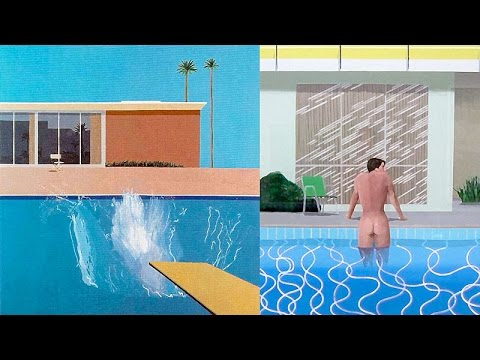 David hockney a bigger splash swimming pool paintings - David hockney swimming pool paintings ...