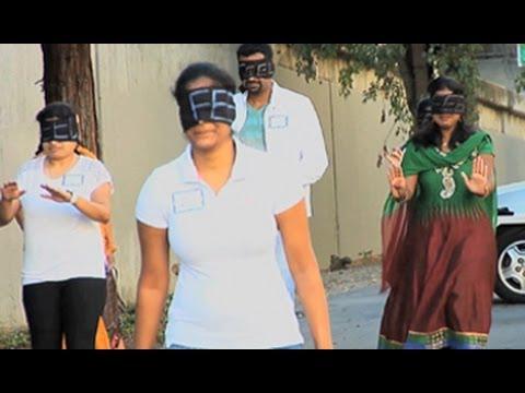FEEL | The Real Light | Blind Folded Walk