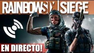 DIRECTO - RAINBOW SIX SIEGE (PS4) CON MI EQUIPO EN DIRECTO!!!!!