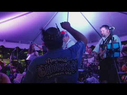 The Klaberheads at the 2017 Cincinnati, Ohio Oktoberfest. Video 9 (Samsung Galaxy Note 8 Video)