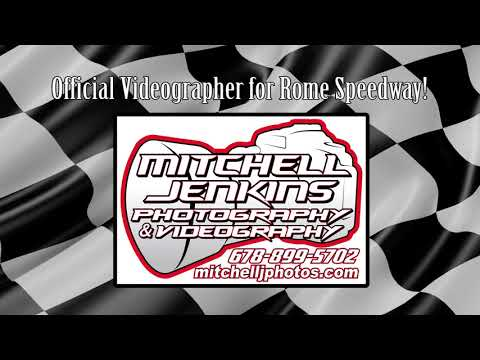 Landon Bagby Steelhead/525 In-Car Rome Speedway 8/20/17!
