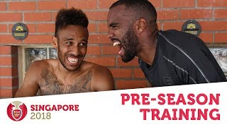 SPEED TESTS, PENALTIES & ICE BATHS | #AFCTour2018