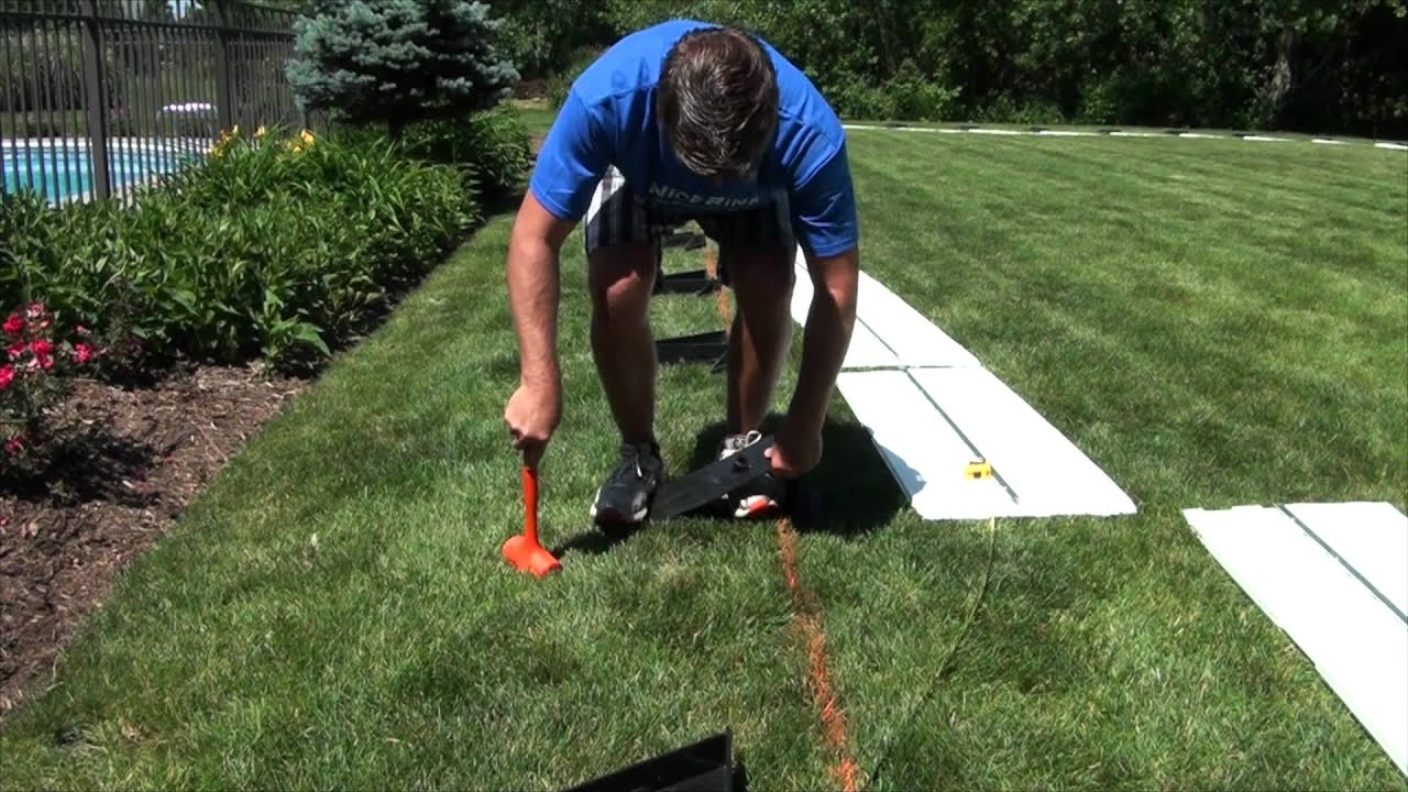 how to install brackets for your backyard ice rink nicerink youtube