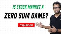 Is Stock Market a Zero Sum Game?