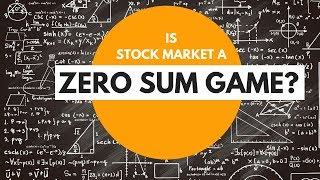 Is Stock Market a Zero Sum Game?