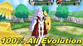Digimon Adventure V5 PSP Save 100% All Mega Evolution/ Warp Shinka/ Jogress Shinka