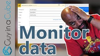 Power BI و Microsoft تدفق رصد البيانات الخاصة بك