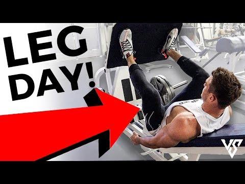 Full Leg Workout For Bigger Stronger Legs (LEG DAY WORKOUT!)