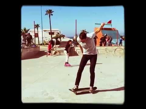 Casablanca Skatepark Heelflip