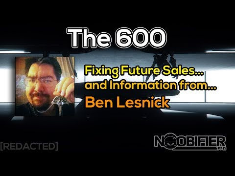 600i - Fixing Ship Sales & Info From Ben Lesnick