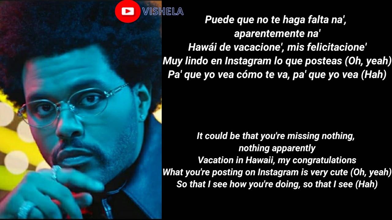 Download (English Translation) Maluma & The Weeknd - Hawái Remix (Letra/Lyric Video)