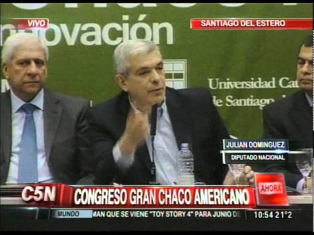 C5N - POLITICA: CONGRESO GRAN CHACO AMERICANO