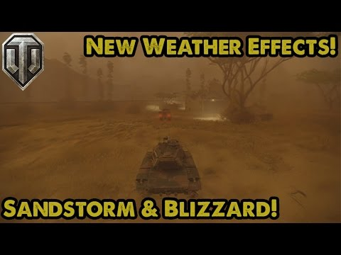 WoT Update 3.1 - BLIZZARD & SANDSTORM! - Two New Weather Effects (Xbox One/PS4)